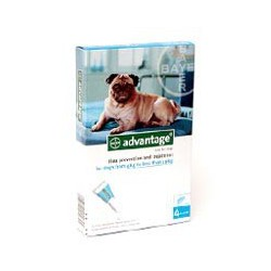 Advantage 100 Dogs 1x4x1.0ml