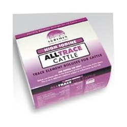 Alltrace High Iodine Boluses For Cattle 1x20