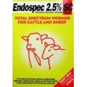 Endospec S&C 2.5% Sheep & Cattle
