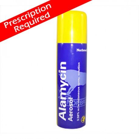 Alamycin aerosol