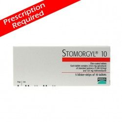Stomorgyl 10 Tablets