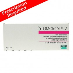 Stomorgyl 2 Tablets