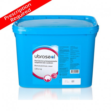 Ubroseal Dry Cow 2.6gm 1x120